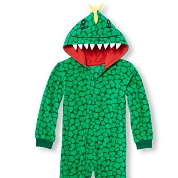 4f3f087238 Children's Place Costumes   The Childrens Place Printed Dino Onesie ...